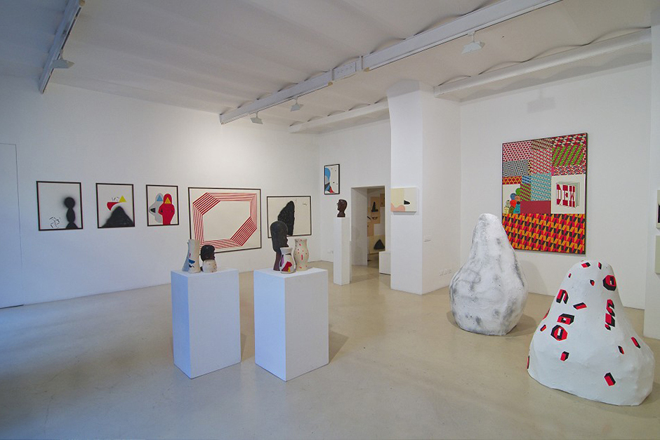 barry-mcgee-and-clare-rojas-exhibition-alessandra-bonomo-gallery-in-rome-2