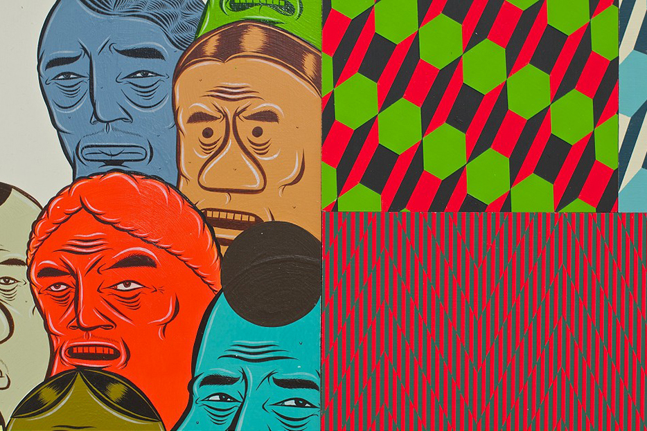barry-mcgee-and-clare-rojas-exhibition-alessandra-bonomo-gallery-in-rome-6